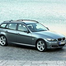 BMW 318d Touring Navigation (E91) LCI