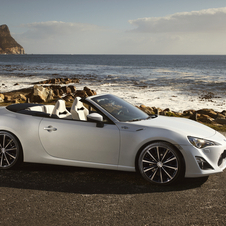 The Open Concept gauges interest for a possible convertible GT86