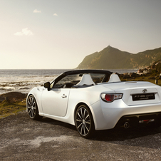 Toyota says that the car was originally designed to be made into a convertible