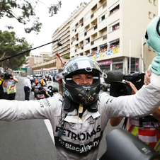 Rosberg conquered for the second straight year the victory in the Monaco Grand Prix