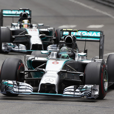 Mercedes continued to dominate the season with yet another one-two victory