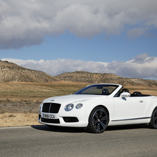 US sales are pushing by the Continental GT cars