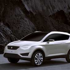 Seat revealed the concept IBx at the 2012 Geneva Motor Show