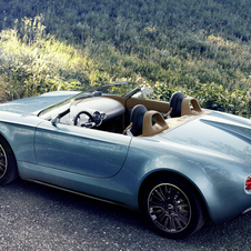 The Superleggera Vision will be alongside the Rolls-Royce Phantom Drophead Coupé Waterspeed and the BMW Vision Future Luxury