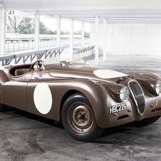 Jaguar has six cars entered - three XK120s and three C-Types