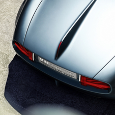 Detail from the Superleggera Vision rear
