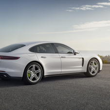 The Panamera 4 E-Hybrid can reach the 278km/h mark in Sport Plus mode and sprint to 100km/h in 4.6 seconds