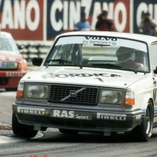 The Volvo 242 Turbo won the 1985 Group A Championship