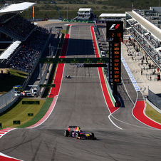 Red Bull will start on the front line of the US Grand Prix