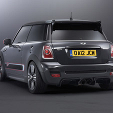 However, Mini claims the rear diffuser is functional