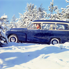 Volvo really began making the PV445 Duett in 1953