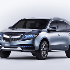 The new MDX will get Acura's LED headlight array