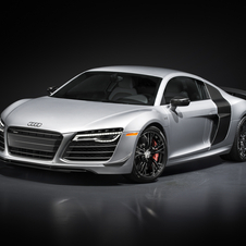 Special edition is powered by the same 5.2 V10 engine as the R8 LMS