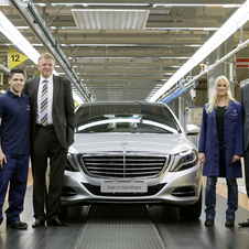 Mercedes-Benz has put €1 billion into the factory in 2013