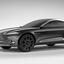 The Aston Martin DBX Concept bets on day-to-day practicality, with generous luggage capacity and room for four adult passengers