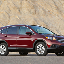 The CR-V is getting a 1.6-liter diesel in Europe this fall