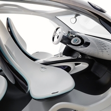 The dashboard and instrument panel are plexiglass
