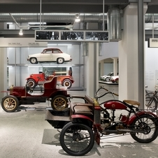 The museum displays 46 Skoda vehicles