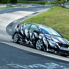 Honda wants the car to be the fastest front-wheel drive car around the Nordschleife ever