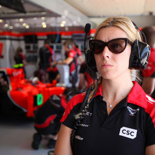 Maria de Villota suffered her accident on July 3 when she crashed into a transport truck while testing.