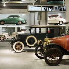 The museum displays even Skoda's oldest cars