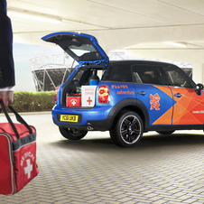 MINI Countryman Cooper D will provide transport services