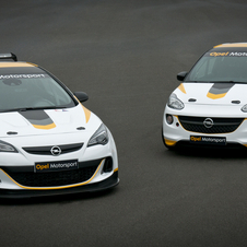 Opel is planning more customer race cars if the Astra and Adam are successful