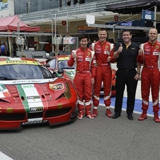 The 458 has been a successful GT racer since its introduction