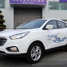 Hyundai is selling a limited number of fuel cell vehicles to fleets