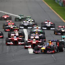 Next year's Formula One schedule as 19 races