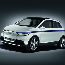 The A2 Concept also showed an idea of a high-roof compact