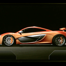 In race mode, the wings on the P1 automatically come up