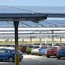 The factory installed the single largest solar array at an auto factory in the world in 2013