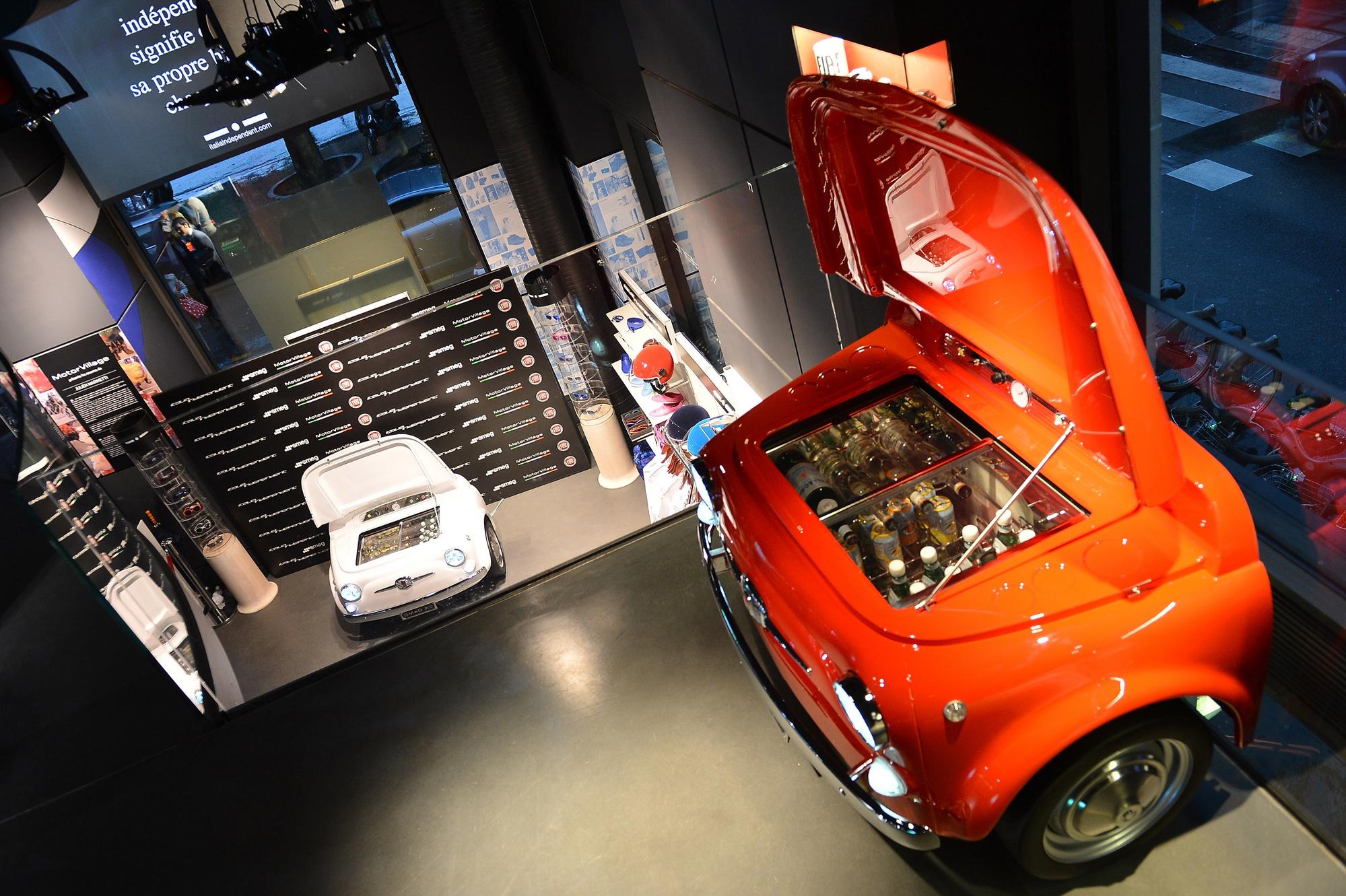 Auto Kühlschrank Selber Bauen : Fiat und smeg bauen smeg kühlschrank slideshow de toviva