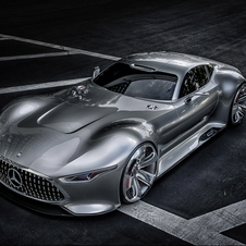 The front is inspired by the 300SL and has variable LEDs in the grill