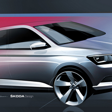 Many design features of the new Fabia are inspired on the new Octavia