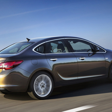 The rear style comes from the Insignia