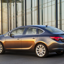 Opel predicts the Astra sedan will be a big seller in Russia