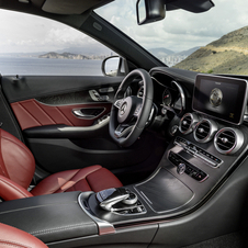 Mercedes says that the interior is inspired by its sports car models