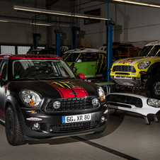 Mini hopes to win the Dakar Rally for a second time