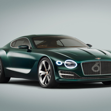 A future model to go alongside the Continental GT may be inspired on the new concept