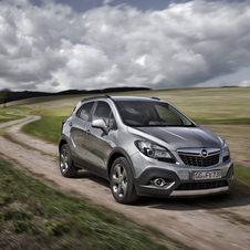 The Mokka gets the 136hp version of the 1.6 CDTI engine, belonging to the new family of engines from the German brand