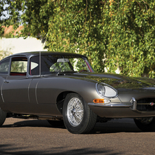 Jaguar E-Type 4.2 S1 Coupe