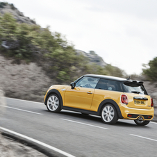 The Cooper S uses a new 2.0-liter four-cylinder turbocharged engine