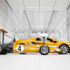 McLaren is one of the few automakers who have raced Formula 1 and GT cars for much of its history