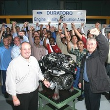 The diesels are the factory's main product