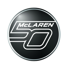McLaren will wear a patch for this year of racing celebrating the anniversary.