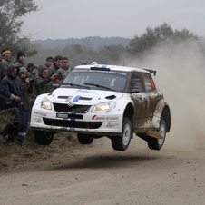 The Acropolis Rally will be officially contested by the Fabia S2000 team