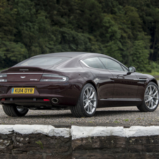 In the case of the Rapide S output has increased by 2hp to 560hp