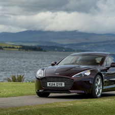 By reducing the exhaust gas back pressure, among other refinements, Aston Martin managed to slightly increase the power output of both the Vanquish an